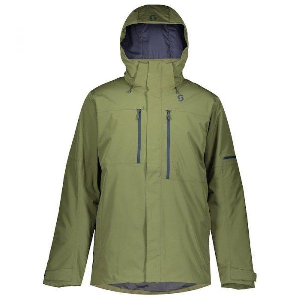 SCOTT ultimate DRYO 2020 - Snowboard kabát green moss